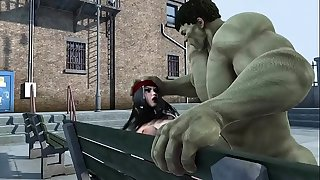 hulk and elektra nailing